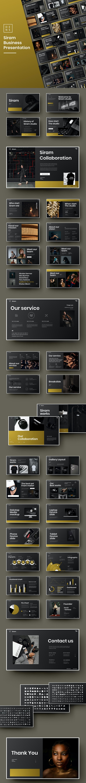 Siram – Business PowerPoint Template - Business PowerPoint Templates