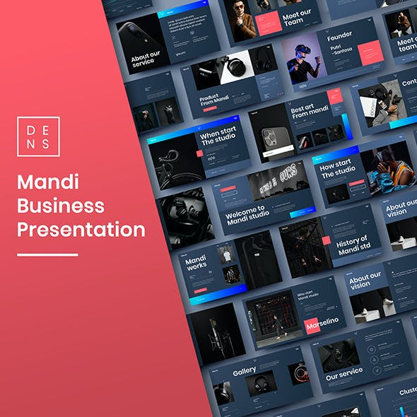 Mandi – Business PowerPoint Template