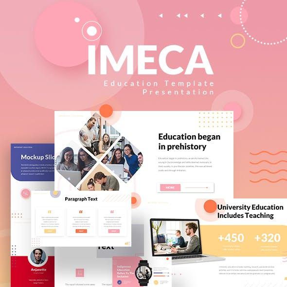 Imeca Education Powerpoint Template