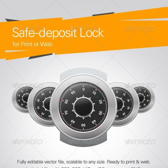 Safe-Deposit Lock