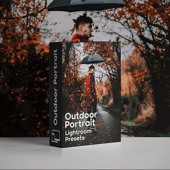 Outdoor Portrait Lightroom Mobile & Desktop Presets