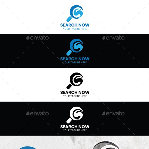 Search Now Logo Template
