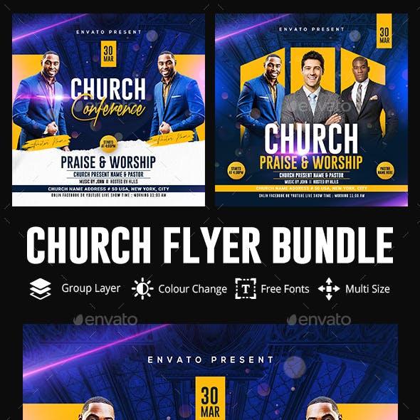 Church Flyer Bundle