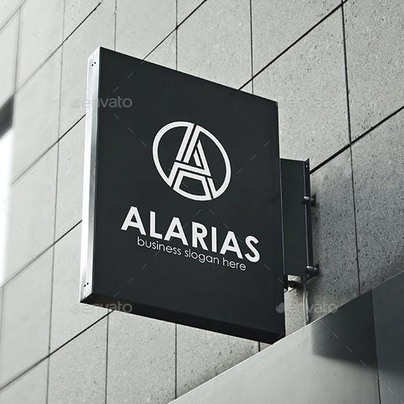 Letter A Logo Monogram