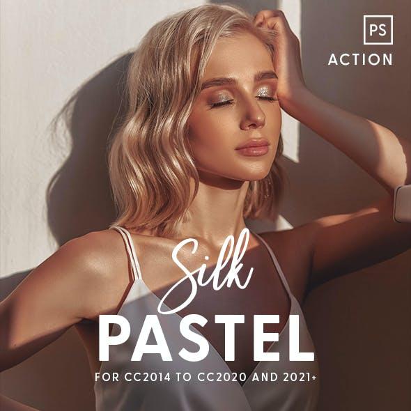 Silk Pastel - Photoshop Action