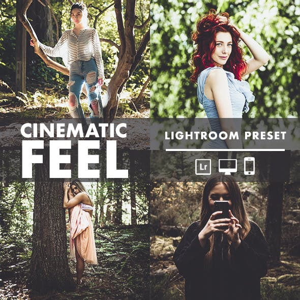 Cinematic Feel Lightroom Preset