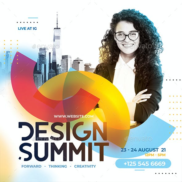 Design Conference Flyer