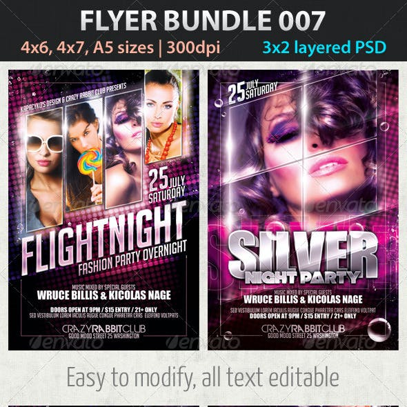Flyer Bundle 007