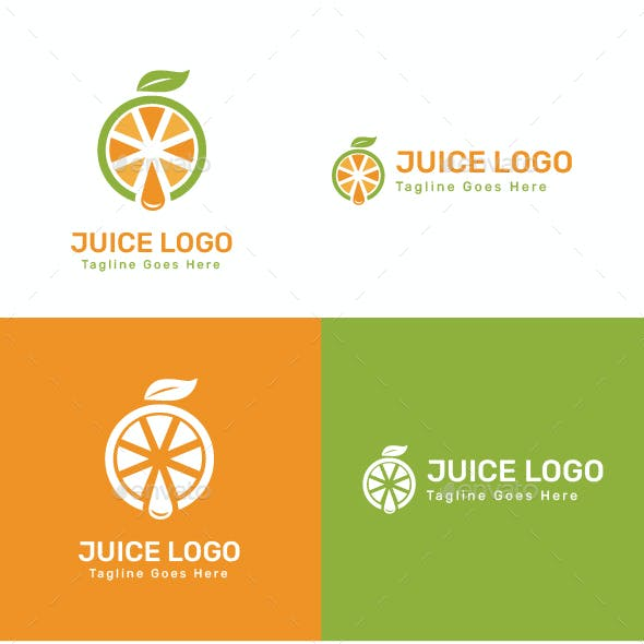 Juice Logo - Food Logo