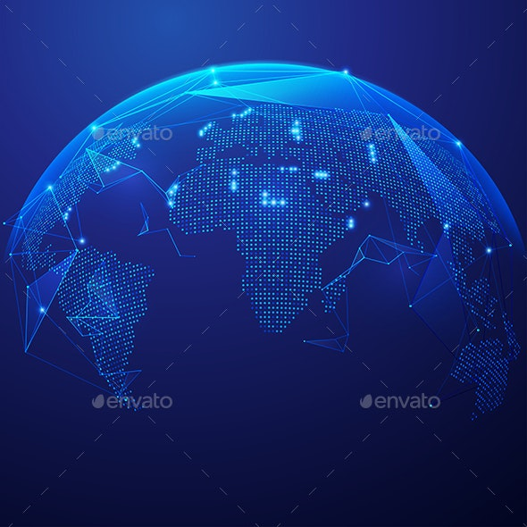 Global Tech - Technology Conceptual