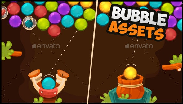 Bubble Game Assets - Game Assets