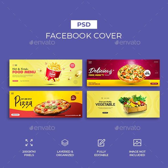 Food Facebook Cover Design