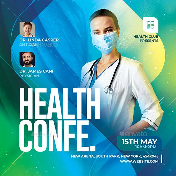 Health Conference Flyer
