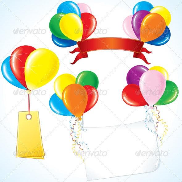 Celebration Balloons - Seasons/Holidays Conceptual