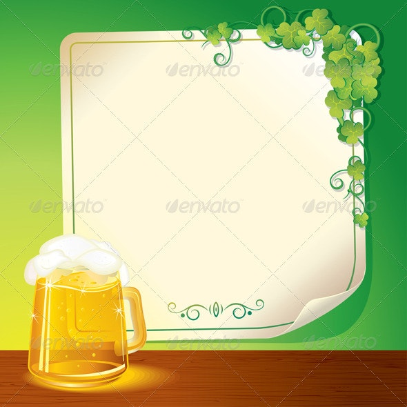 Lager Beer - Backgrounds Decorative