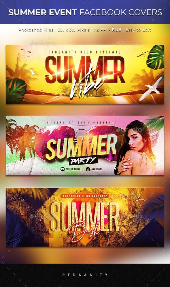 Summer Event Facebook Cover - Facebook Timeline Covers Social Media