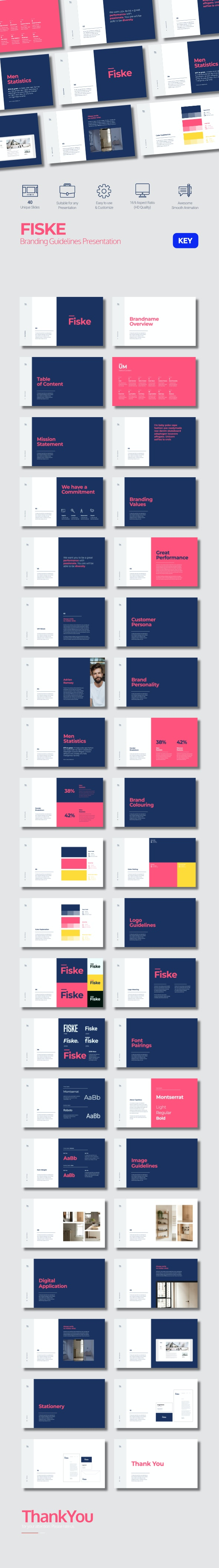Clean Minimalism Presentation Keynote - Business Keynote Templates