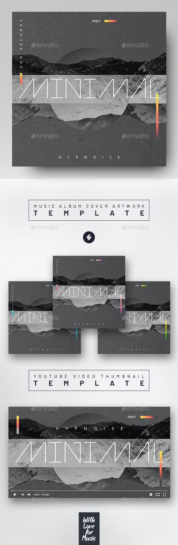 Minimal – Music Album Cover Artwork / Video Thumbnail Template - Miscellaneous Social Media