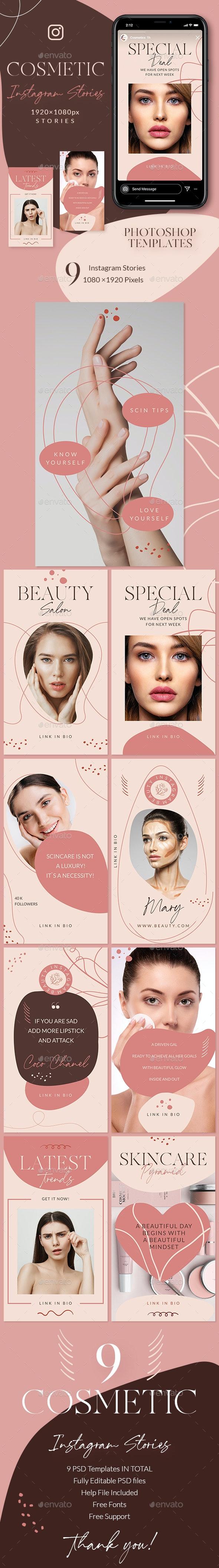 Beauty Salon Instagram Stories - Miscellaneous Social Media