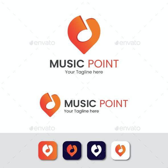 Music Point Logo - Music Place Logo
