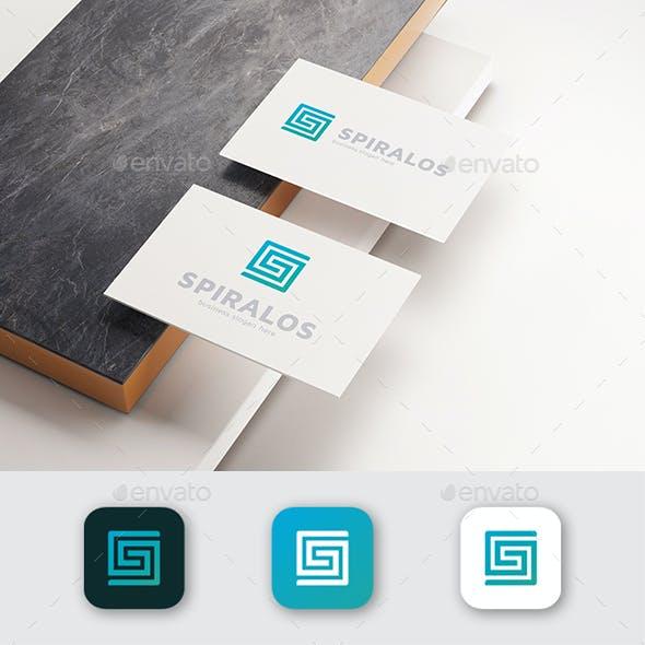 S Logo Square - Spiralos