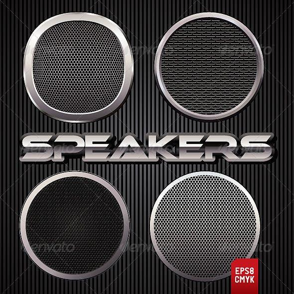 Speakers Grilles