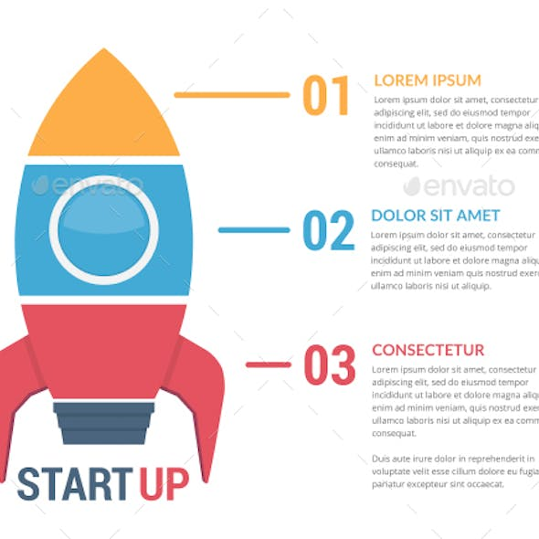 Rocket - Infographic Template