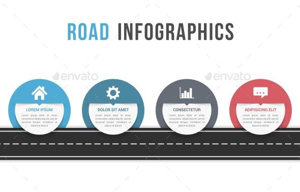 Road Infographics - Infographics