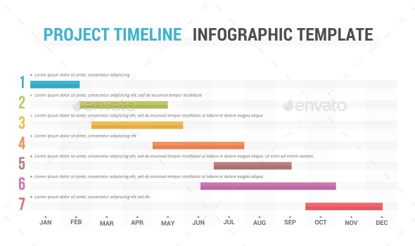 Project Timeline - Infographics