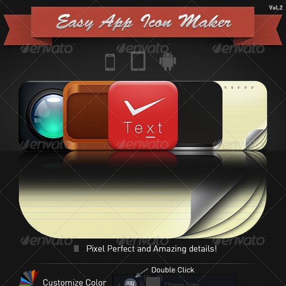 Easy App Icon Maker vol. 2