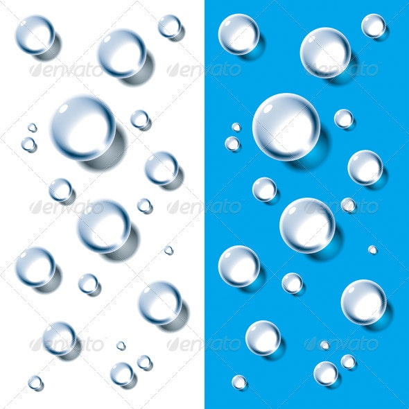 Water Drops - Backgrounds Decorative