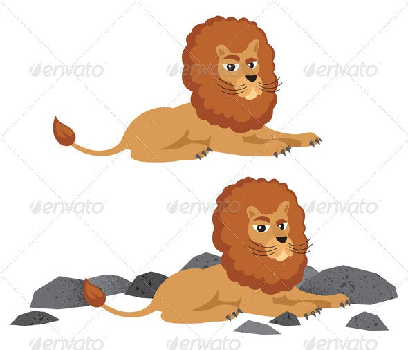 Lion - Characters Vectors