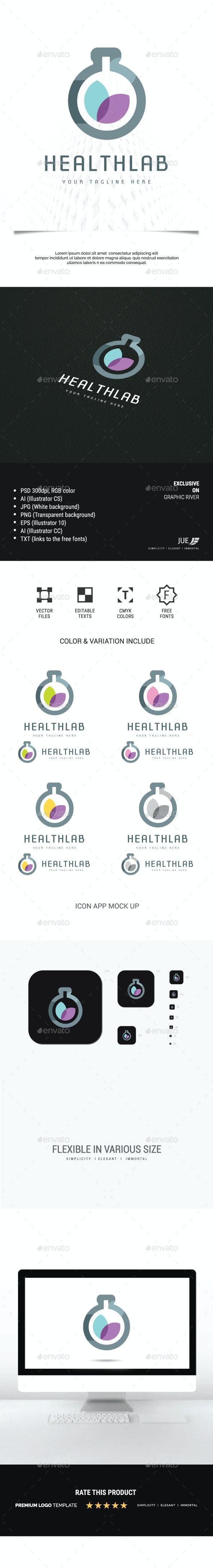 Health Lab Logo - Nature Logo Templates