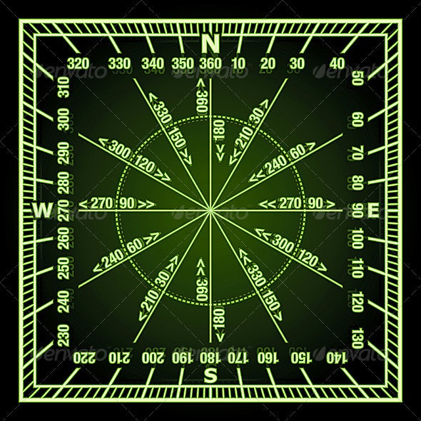 Navigation Grid - Travel Conceptual