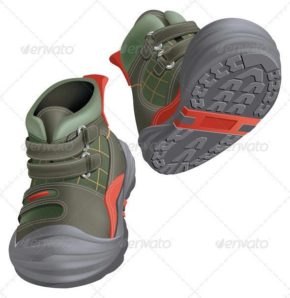 Winter Boots - Miscellaneous Vectors