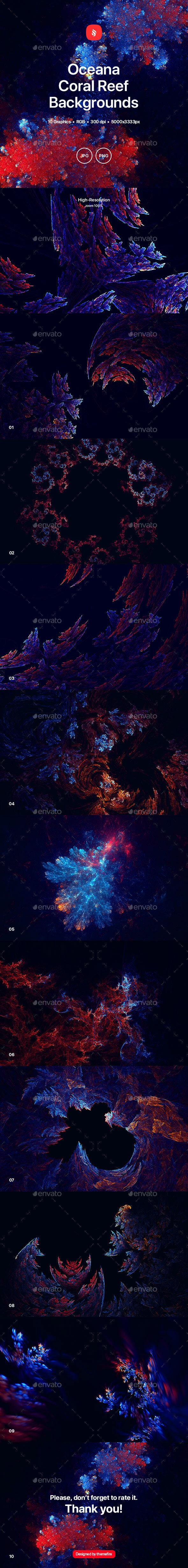 Oceana - Coral Reef Backgrounds - Nature Backgrounds