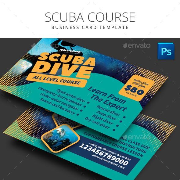 Scuba Diving Business Card