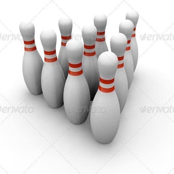 Bowling skittles