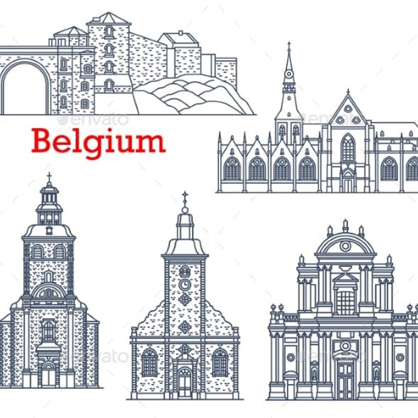 Belgium Travel Landmarks of Namur and Stavelot