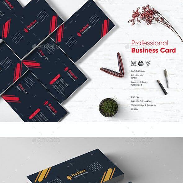 Chemist Business Card Template