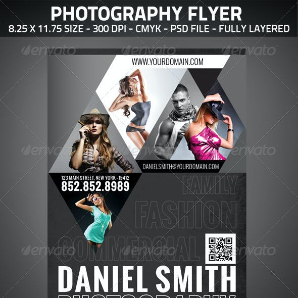 Photography Flyer A4