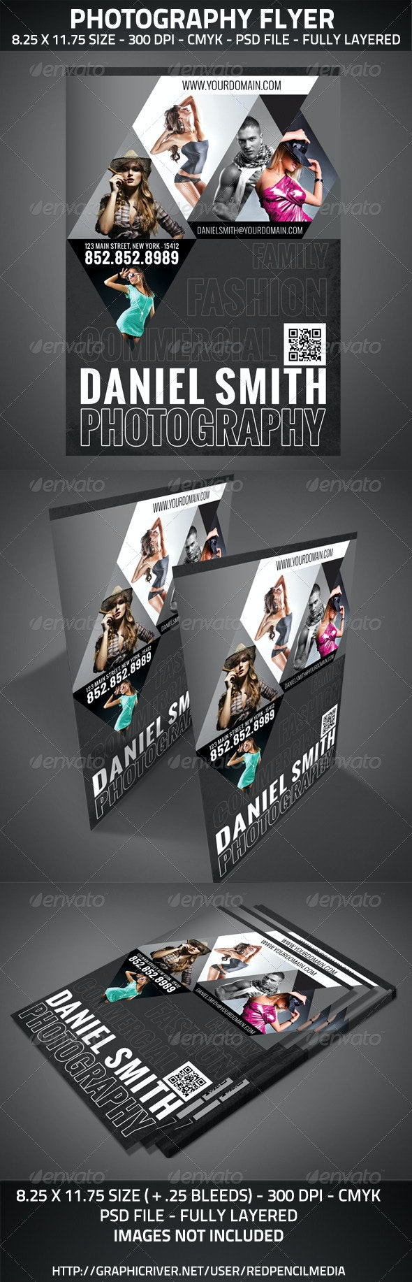 Photography Flyer A4 - Miscellaneous Events