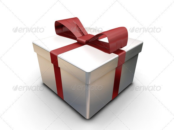 Wrapped gift - Objects 3D Renders