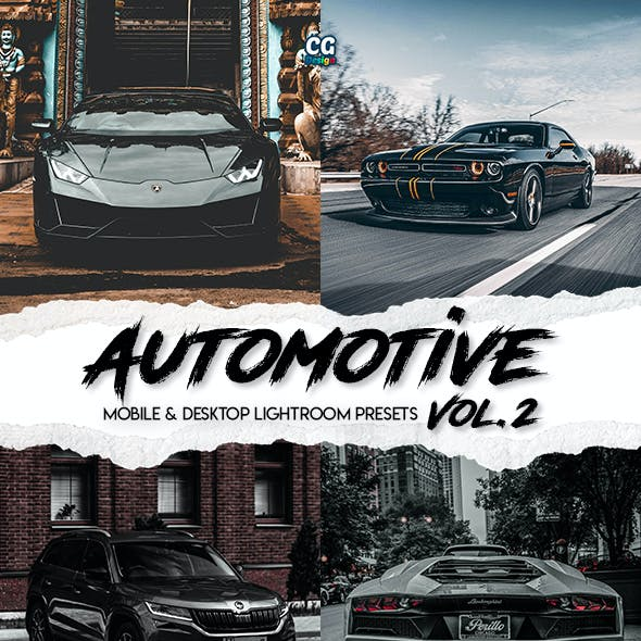 Automotive Vol. 2 - 15 Premium Lightroom Presets