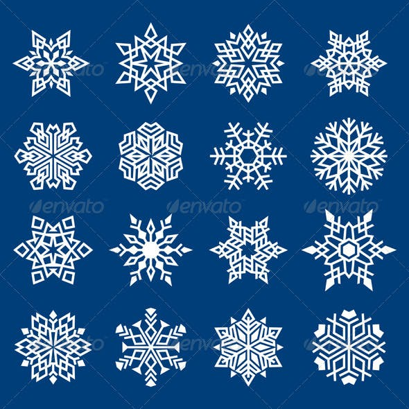 Set of Snowflakes Ornament