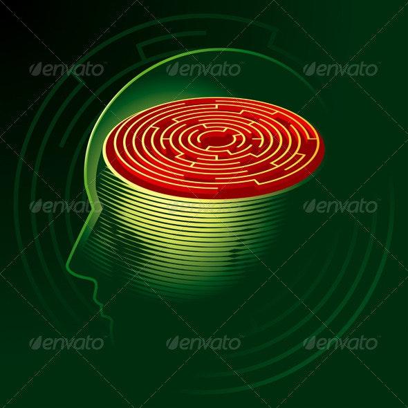 Labyrinth Mind - Miscellaneous Vectors