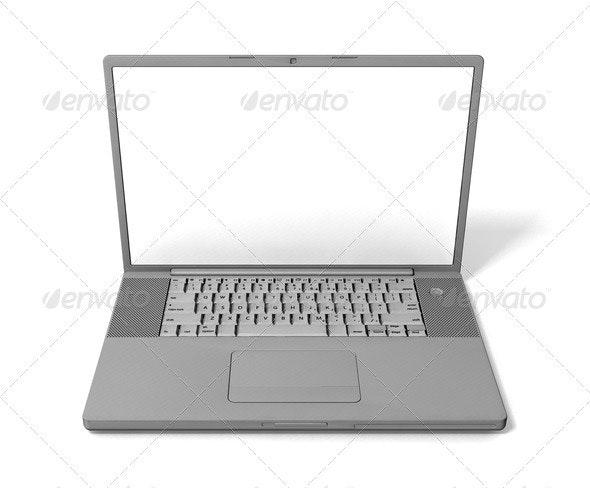 Laptop - Technology 3D Renders