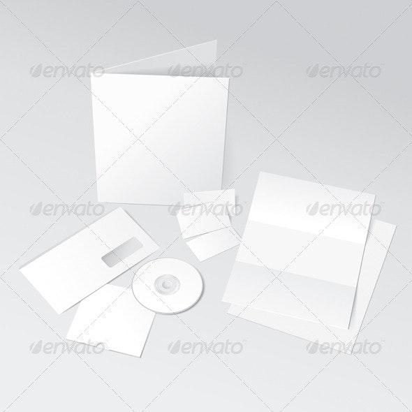 Corporate ID Template - Miscellaneous Vectors