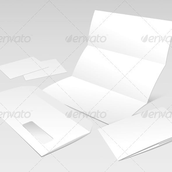 Letter, Envelope, Business Cards and Booklet