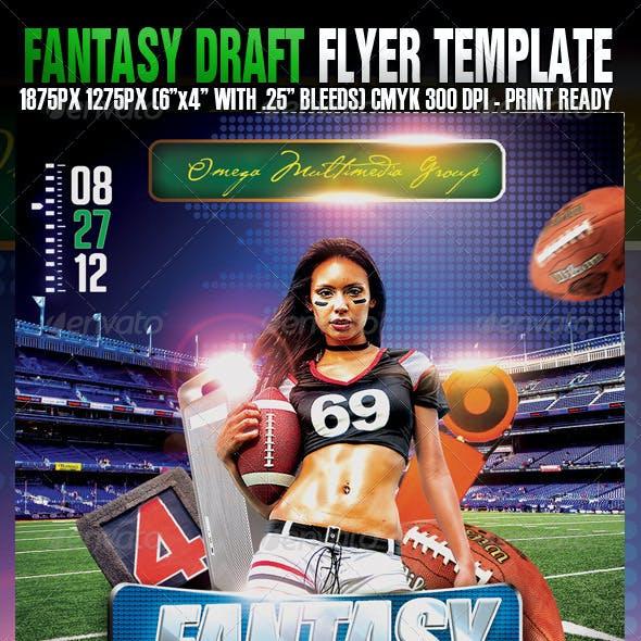 Fantasy Draft Football Party
